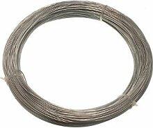 Verzinkte Gartenzaun Wire 1 mm 80 Meter (20 Rolls Jeder 500G Gewicht)