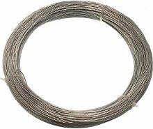 Verzinkte Gartenzaun Wire 1 mm 80 Meter (3 Rolls Jeder 500G Gewicht)