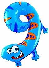 VEVICE Aluminium Folie Luftballons, 1PCS