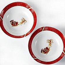 VEWEET, Serie CHRISTMASDEER, Porzellan
