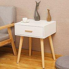 VFD Beistelltisch, Holz Nachttisch Klein Sofatisch