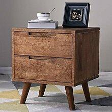 VFD Holz Nachttisch, Klein Sofatisch Telefontisch