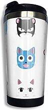 vfrtg Chibi Fairy Cats V2 Kaffee Reisebecher Tasse