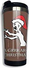 vfrtg GRR Argh Weihnachtskaffee Reisebecher Tasse