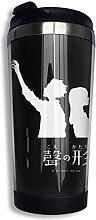 vfrtg Koe No Katachi (Dark) Kaffee Reisebecher