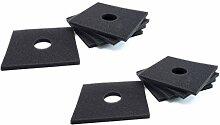 vhbw 10X Dauer-Filter für Lüfter, Ventilator