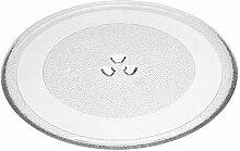 vhbw Glas Mikrowellen-Teller 32.4cm kompatibel mit