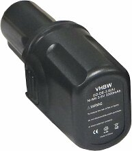 vhbw Ni-MH Akku 3300mAh (3.6V) Elektro Werkzeuge