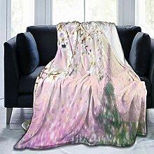 vhg8dweh Ultraweiche Micro Fleece Decke,Luftbild