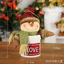 VHVCX Ornamente ältere Menschen Snowman