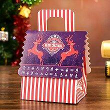 VHVCX Ornamente Personalized Christmas Box Kasten