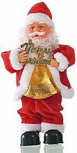VHVCX Tanzen-Weihnachtsweihnachtsmann Frohe