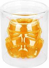 VI AI Doppelwandige Wassergläser Whiskey Glas