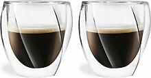 Vialli Design Cristallo doppelwandig Tee/Kaffee
