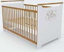 Vicco Babybett Kinderbett Gitterbett Beistellbett