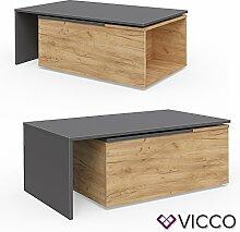 Vicco Couchtisch LEO 60x100 cm Wohnzimmertisch