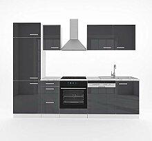 Vicco Küche Optima 270 cm Küchenzeile
