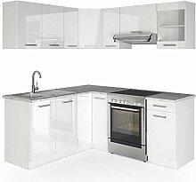 Vicco Küche Rick L-Form Küchenzeile Küchenblock