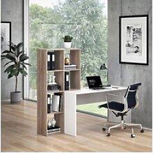 Vicco Regal-Schreibtisch Schreibtisch mit Regal