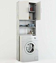 Vicco Waschmaschinenschrank 190 x 64 cm - Badregal