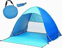 Vicloon Automatik Pop Up Sonnenschirm Portable Zelt Sonne Im Freien Garten Familie Camping Zelte für 2-3 Personen
