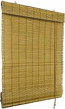 VICTORIA M Bambus-Raffrollo 90 x 160cm, braun -