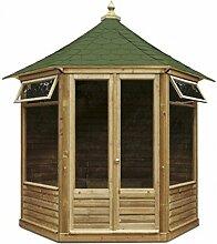Victorian geschlossene Gartenlaube (groß). Gartenhaus aus Holz günstig kaufen.