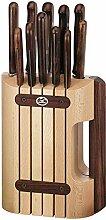 Victorinox Wood Messerblock-Set, 11-teiliges,