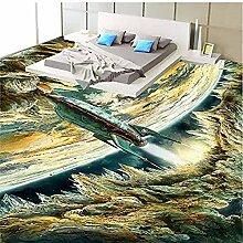 Vicueyy 3D Bodentapete Wandbild Wasserdichte