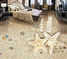 Vicueyy Tapete 3D Boden Wandbild Tapeten Für