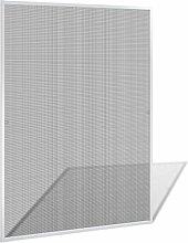 vidaXL 130x150cm Insektenschutz Alu Rahmen Fliegengitter Fenster Gitter Mückengitter