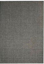 vidaXL 133078 Teppich Sisal Optik 120x170cm Grau