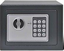 vidaXL 141442 Elektronischer Safe Wandtresor
