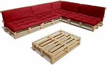 vidaXL 15tlg. Holz Gartenmöbel Lounge
