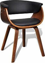vidaXL 1x Esszimmerstuhl Sessel Esszimmerstühle Holzrahmen Sofa Beistellstuhl