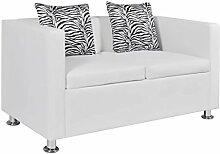 vidaXL 2-Sitzer Sofa Couch Loungesofa Relaxsofa