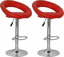 vidaXL 2 x DESIGN Barhocker Bar Stuhl Hocker LOUNGE Sessel Küche Barstühle Barstuhl 56