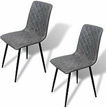 vidaXL 2X Esszimmerstuhl Esszimmerstühle