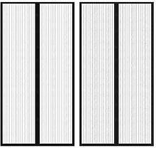 vidaXL 2x Insektenschutz Türvorhang 100x210cm