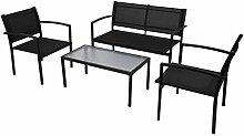 vidaXL 4tlg. Gartenmöbel-Set Sitzgruppe