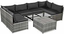 Vidaxl - 7-tlg. Garten-Lounge-Set mit Auflagen