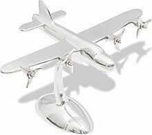 vidaXL Alu Flugzeug Modell Flugzeugmodell