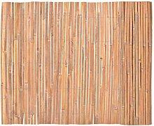 vidaXL Bambusmatte Bambus 100x400 cm