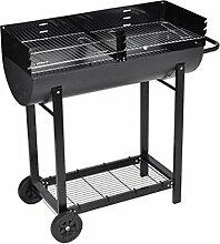 vidaXL Barbecue Grill BBQ Grillwagen Smoker