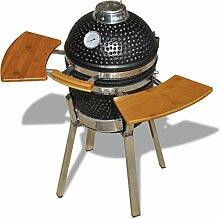 vidaXL BBQ Kamado Keramik Grill Gartengrill