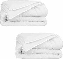 Vidaxl - Bettdecke 2 Stück 4 Jahreszeiten