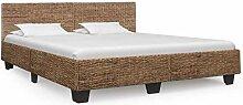 vidaXL Bettgestell Rustikal Bett Doppelbett