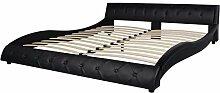 vidaXL Bettrahmen Doppelbett Plattformbett Bett