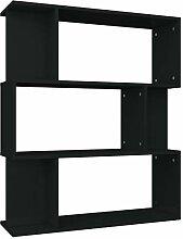vidaXL Bücherregal Raumteiler 3 große 6 kleine