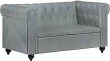 vidaXL Chesterfield Sofa 2-Sitzer Polstersofa